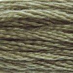 Colour 642 of DMC cross stitch floss which is Beige Gray Dark
