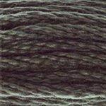 Colour 645 of DMC cross stitch floss which is Beige Gray Very Dark