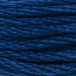 Colour 803 of DMC cross stitch floss which is Baby Blue Ultra Very Dark