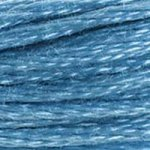 Colour 813 of DMC cross stitch floss which is Blue Light