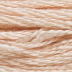Colour 950 of DMC cross stitch floss which is Desert Sand Light