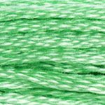 Colour 954 of DMC cross stitch floss which is Nile Green