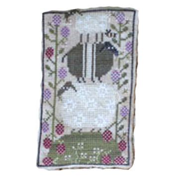 Sheep Heap Plum Street Samplers Cross Stitch Pattern