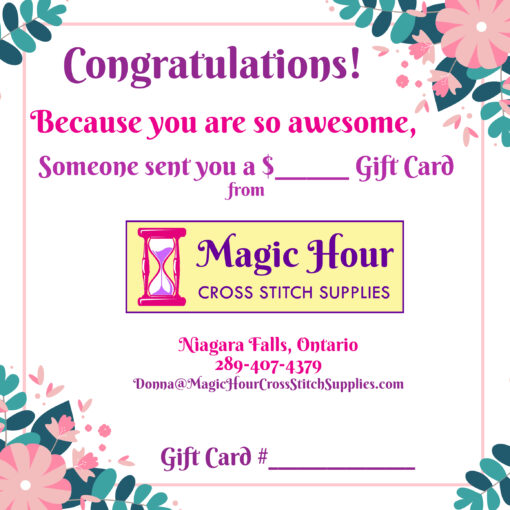 A gift card to say Congratulations for any occasion